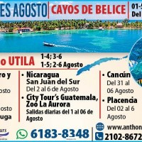 ROATAN O UTILA (ANTHONY TOURS)