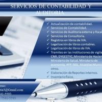 Servicios de contabilidad y Auditoria. Asesoria Gratis.