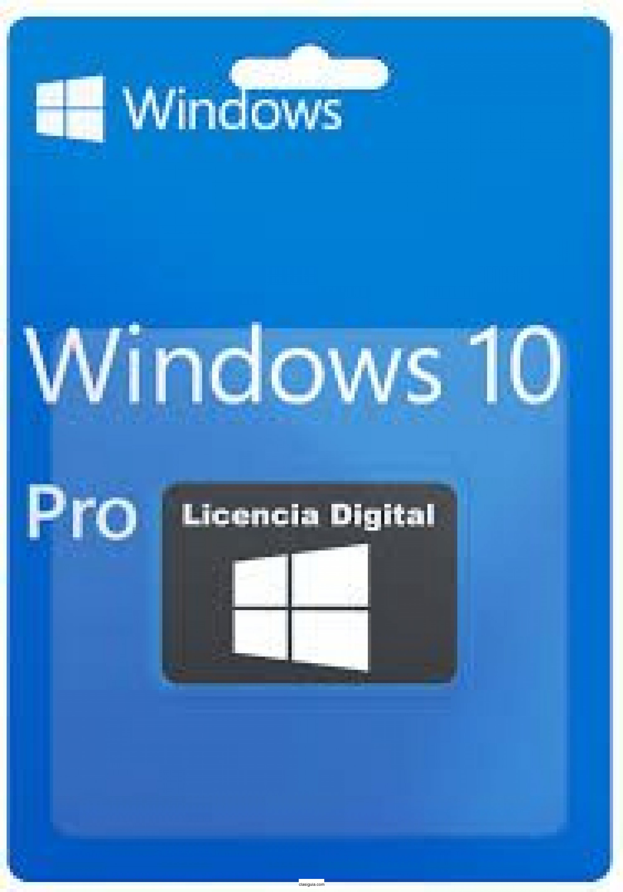 Licencia Windows 10 32 o 64 bits
