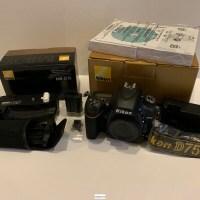 Nikon D750 solo cuerpo MINT
