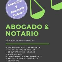 ABOGADOS Y NOTARIOS