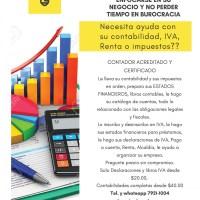 Contabilidad,  declaraciones de impuestos y asesoría administrativa