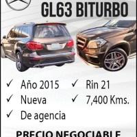 MERCEDES AMG GL63 BITURBO
