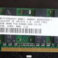 Memorias Ram Ddr2 2Gb para Laptop.