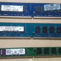 Memorias Ram DDR2 para Desktop de 2Gb.