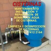 CISTERNAS Y REPARACION  DE BOMBAS DE AGUA