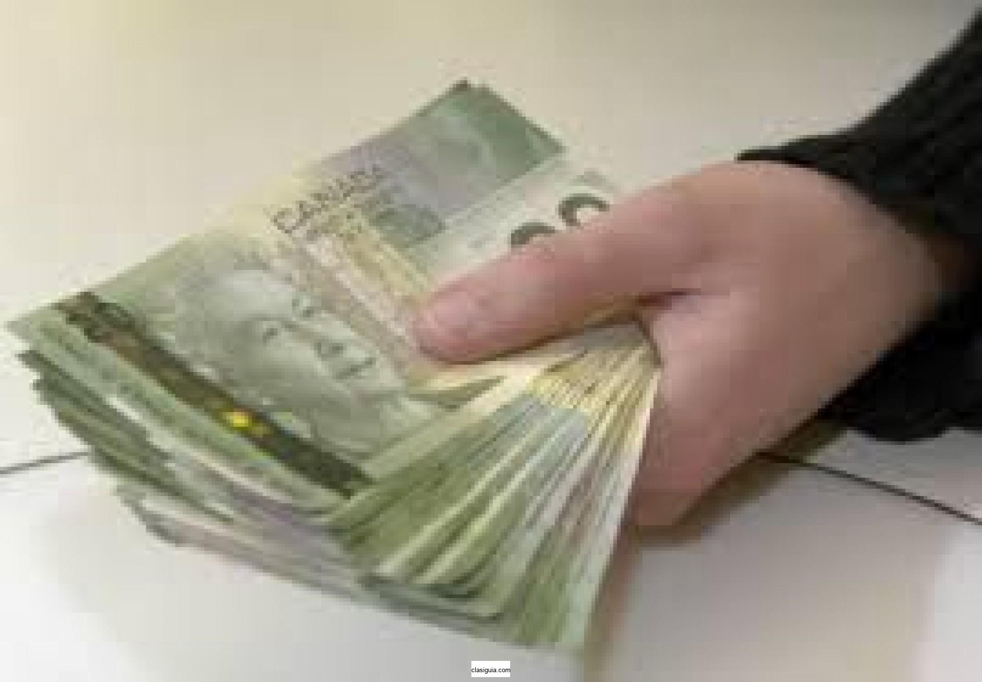 Oferta de préstamo, financiación o inversión