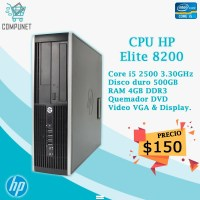 cpu  CI5  HP ELITE 8200