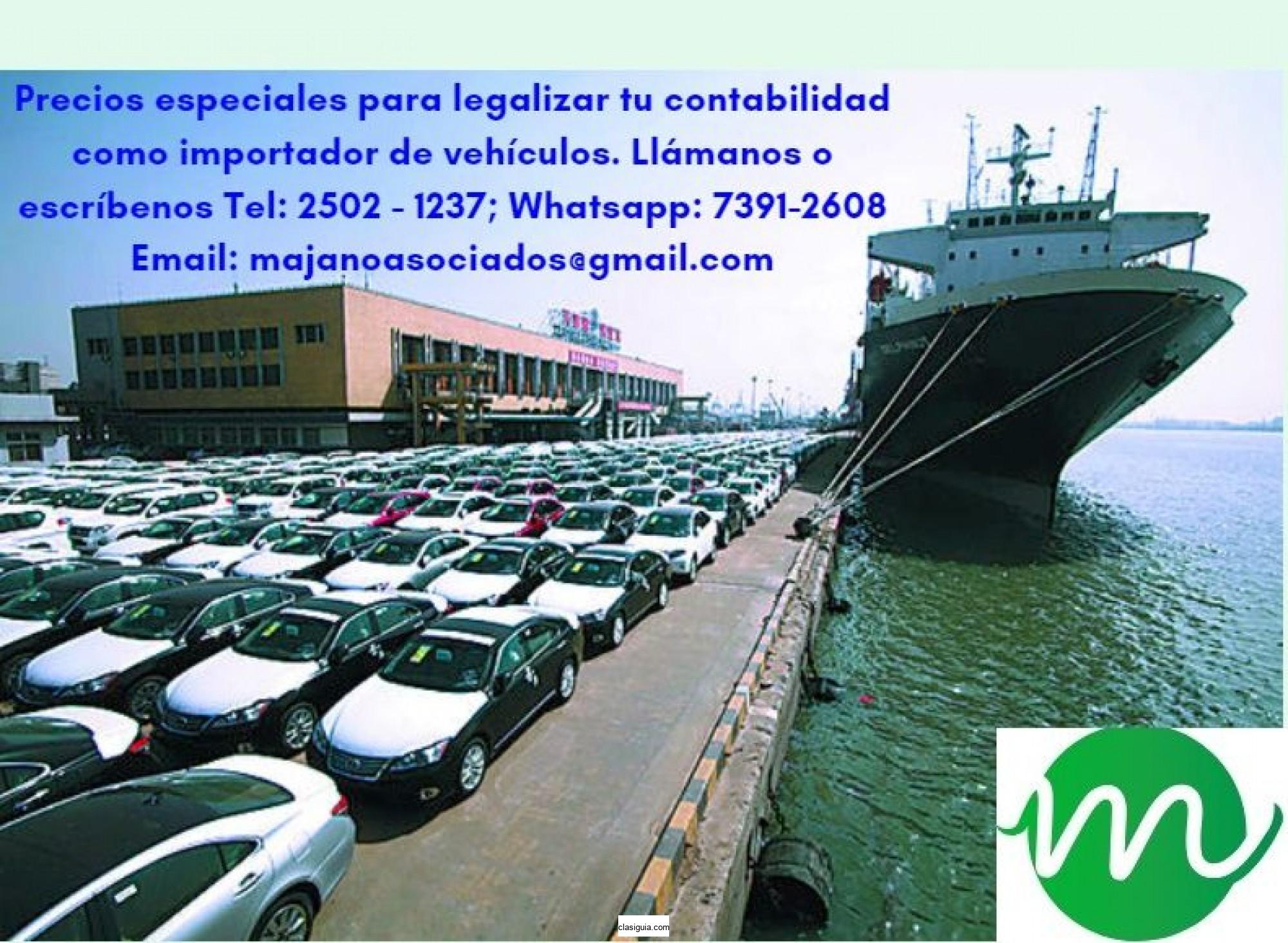 ¿Emprendiendo el negocio de importador de vehículo autorizado?