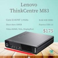 CPU LENOVO I5 4TH  $175