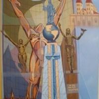 Litografía: Monumentos de El Salvador