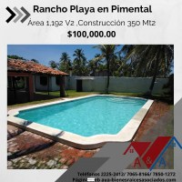 Rancho en Playa el Pimental 1
