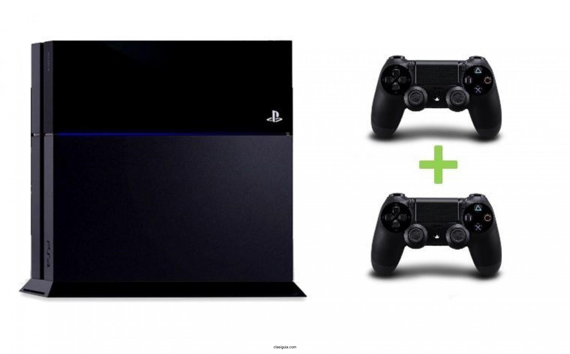 Sony PS4 500GB con 2 Controles $200 dolares