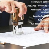Abogados, Notarios, & Consultores Legales. Attorneys, Public Notaries, & Legal Consultants.