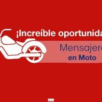MENSAJERO MOTOCICLISTA