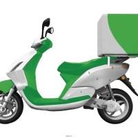 Motociclistas para reparto
