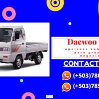 Importación de camiones Daewoo labo