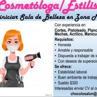 Cosmetóloga/Estilista