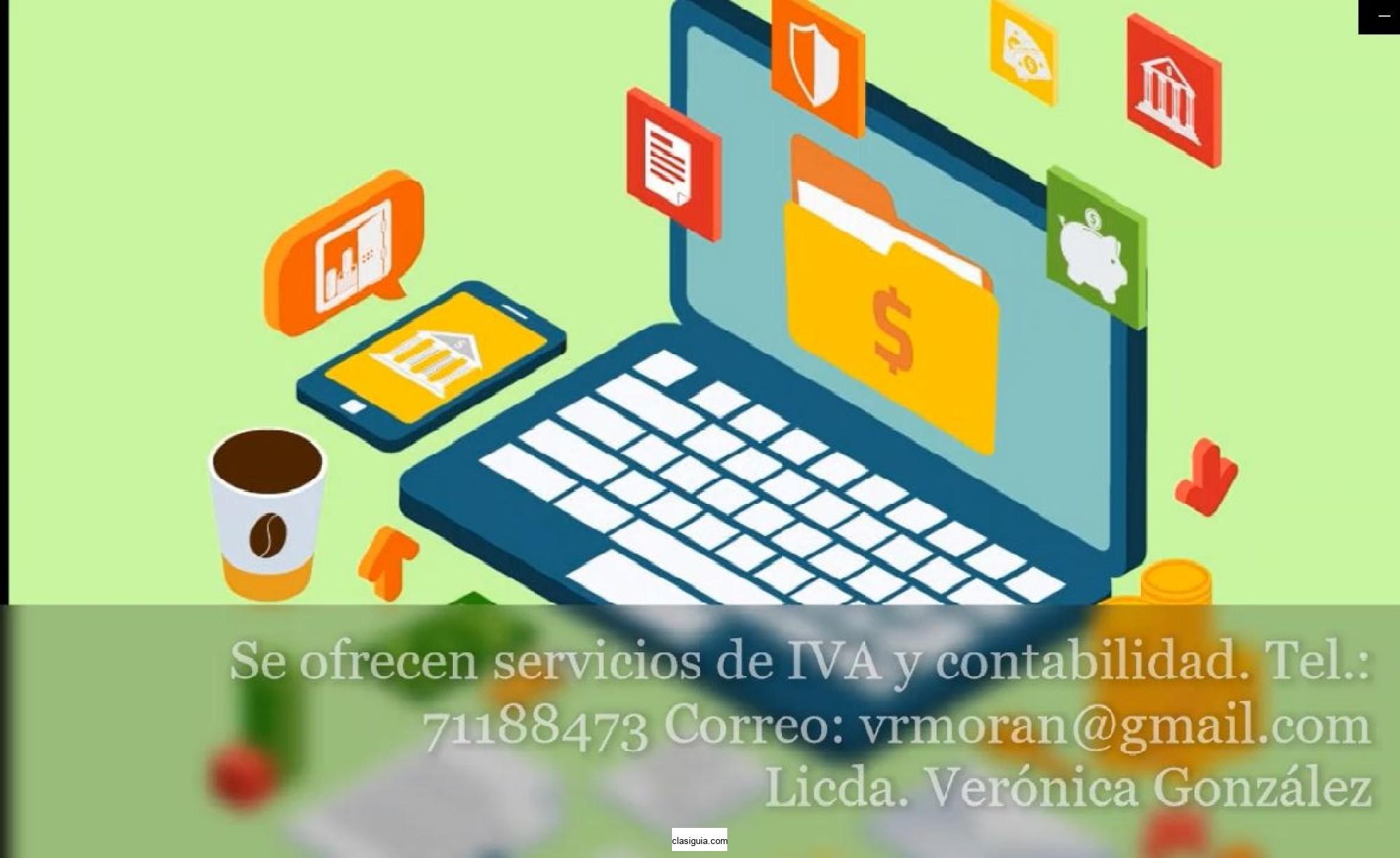 Servicios de contabilidad e IVA