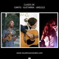 CLASES DE CANTO - GUITARRA - UKELELE