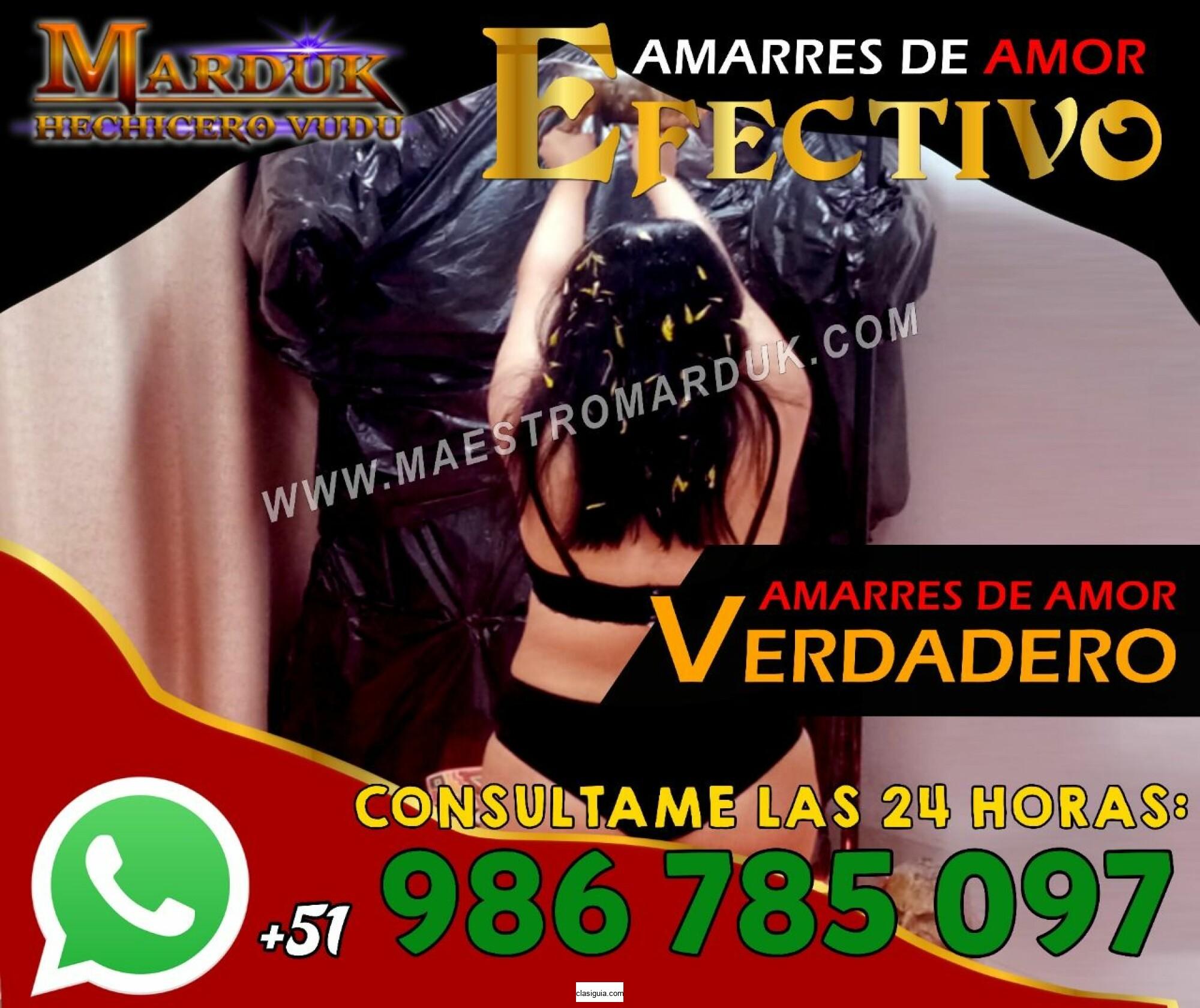 AMARRES DE AMOR  EN ECUADOR - MAESTRO MARDUK