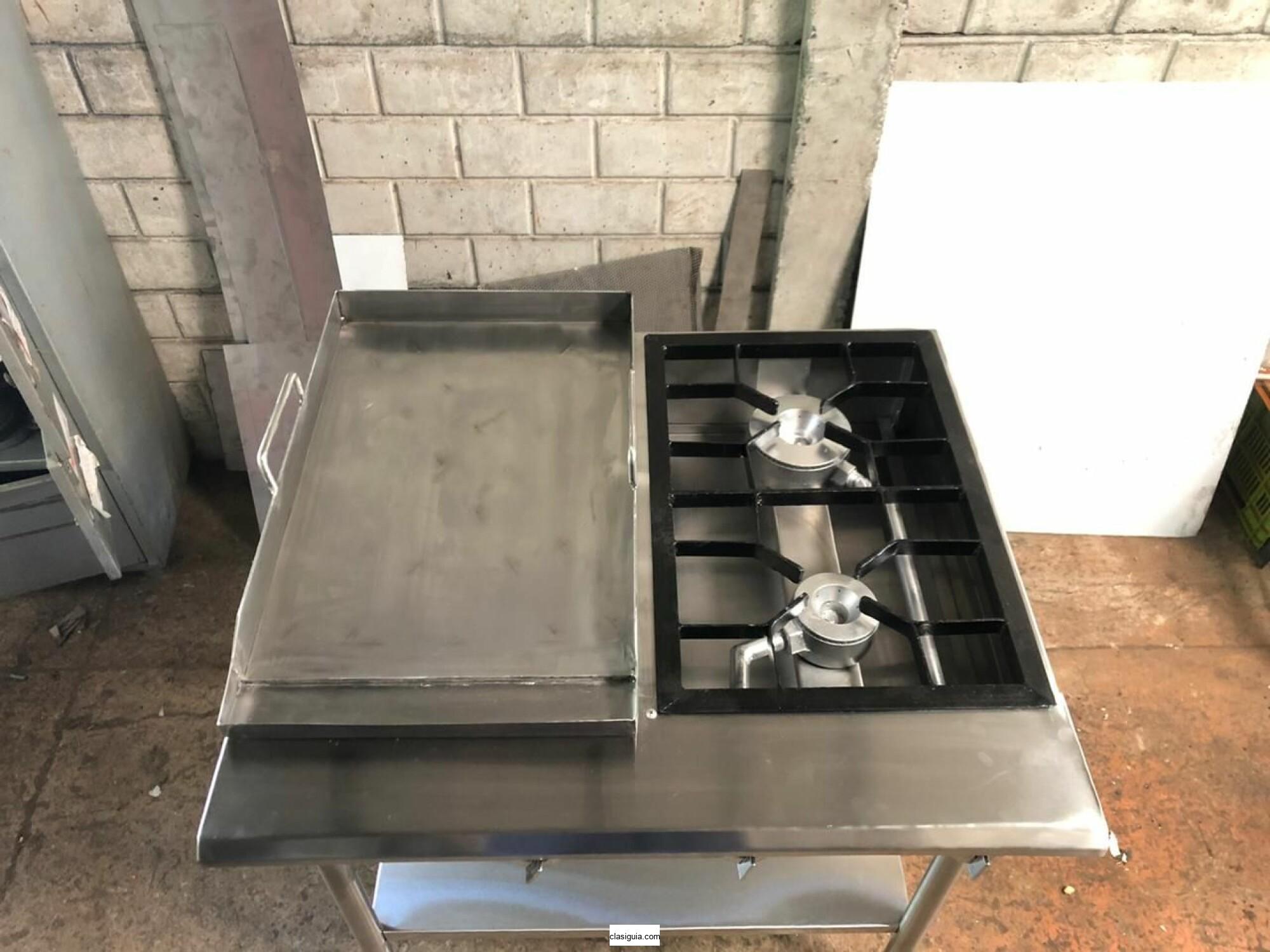 Planchas fabricadas en acero inoxidable 304, grado alimenticio