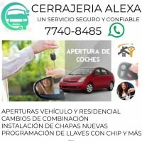CERRAJERIA ALEXA  ¡¡¡UN SERVICIO SEGURO Y CONFIABLES!!!