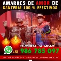 AMARRES DE AMOR EN PERU - MAESTRO MARDUK