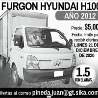 FURGON HYUNDAI H100