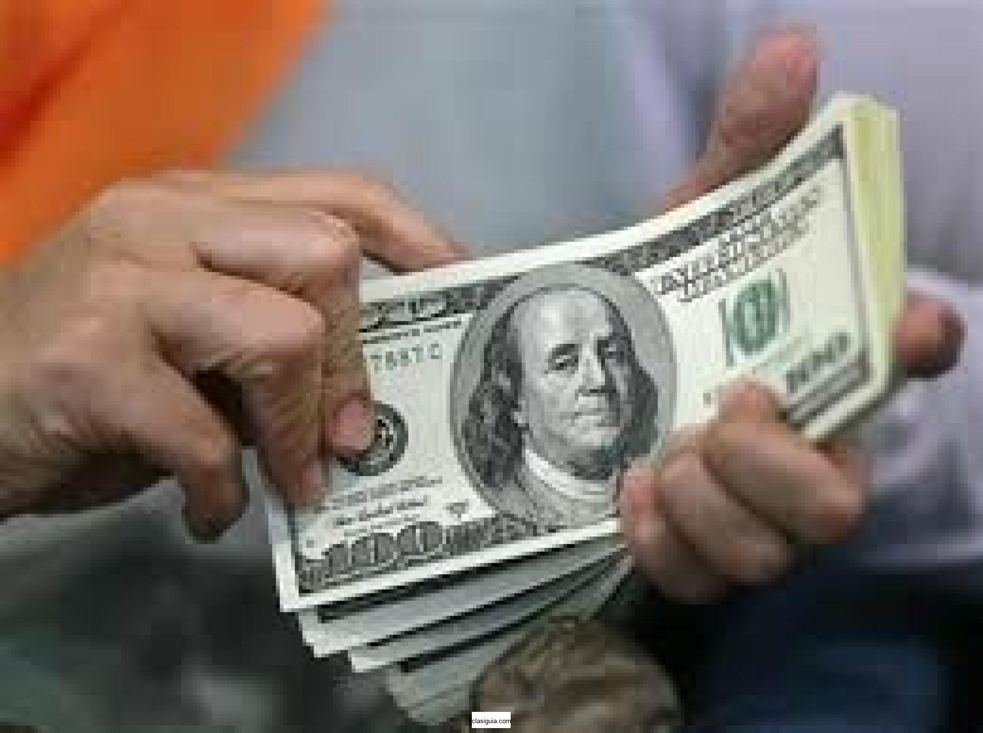 Financiamiento de crédito y dinero a su servicio