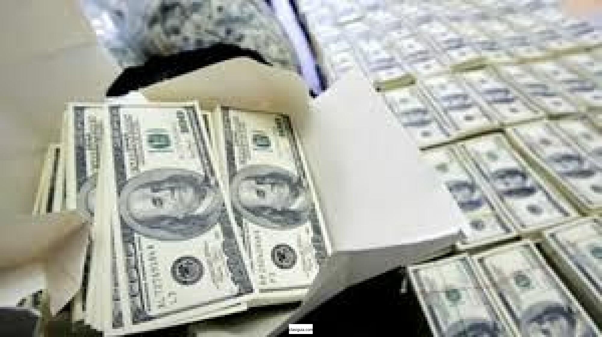 préstamo de financiamiento a cualquier persona capaz