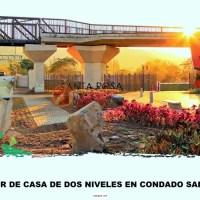 ALQUILER - CASA DE DOS NIVELES - Condado Santa Rosa - Santa Tecla