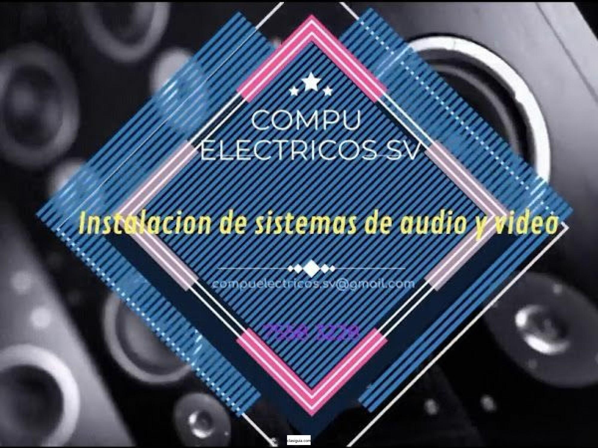 Instalación de sistemas de audio y vídeo para tu hogar o negocio