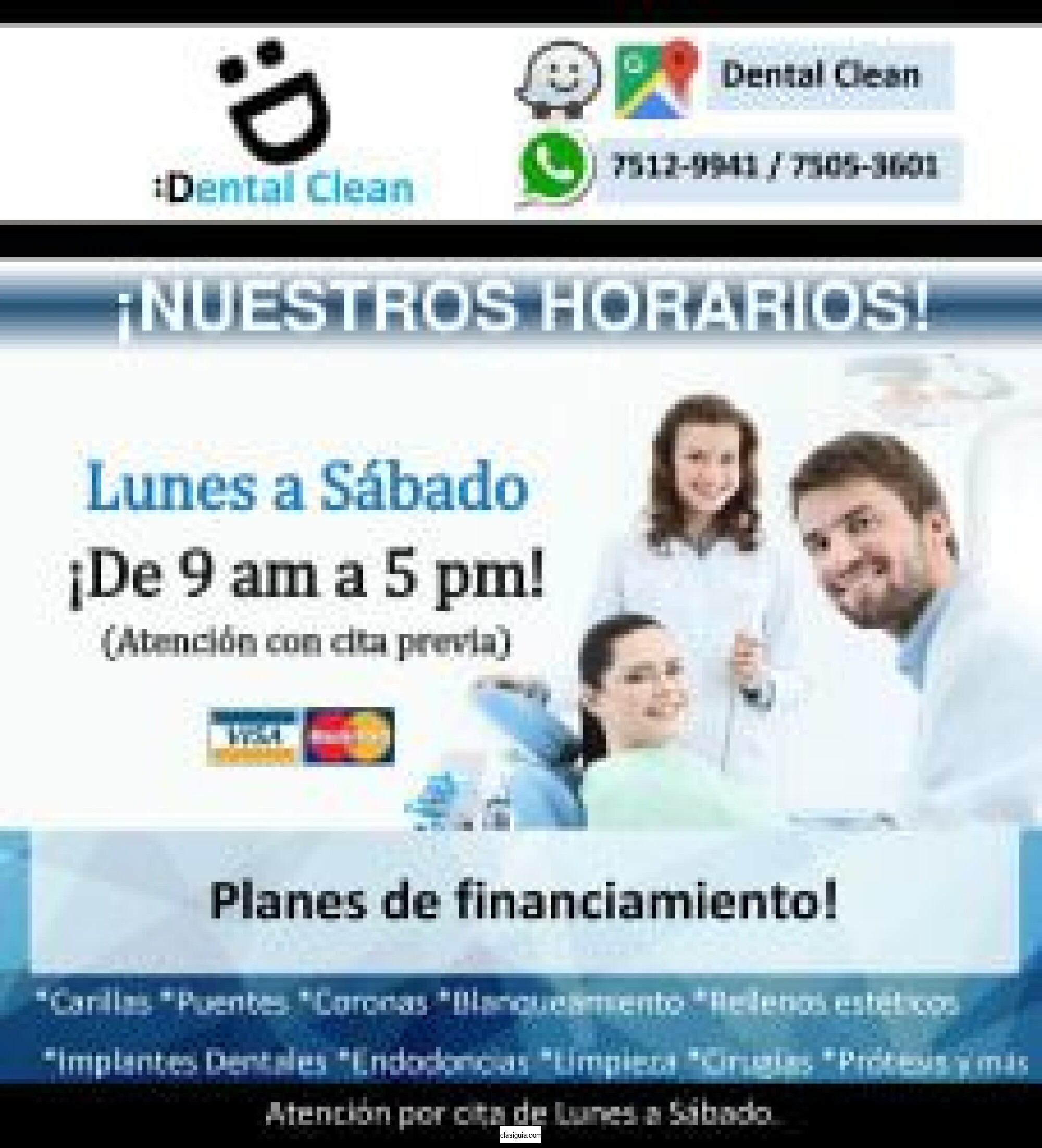 Clinica dental en San Salvador