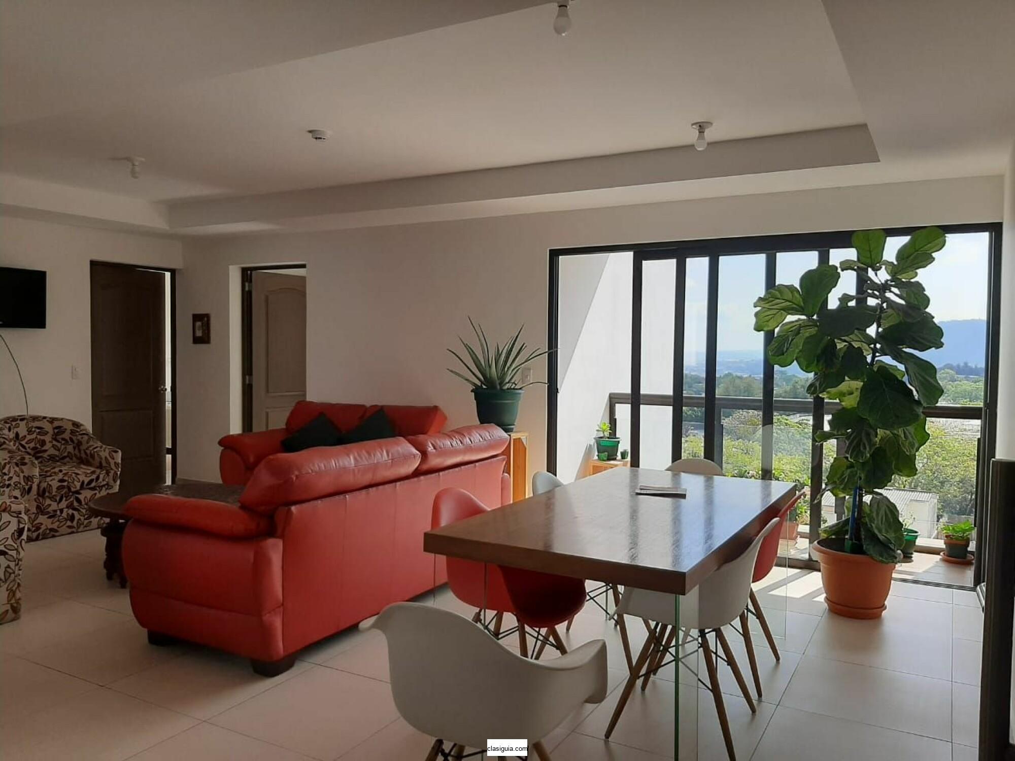 SE ALQUILA APARTAMENTO SAN MATEO, PRIVADO, CON LINEA BLANCA, sala, comedor, cocina, Tiene 3 habitaciones
