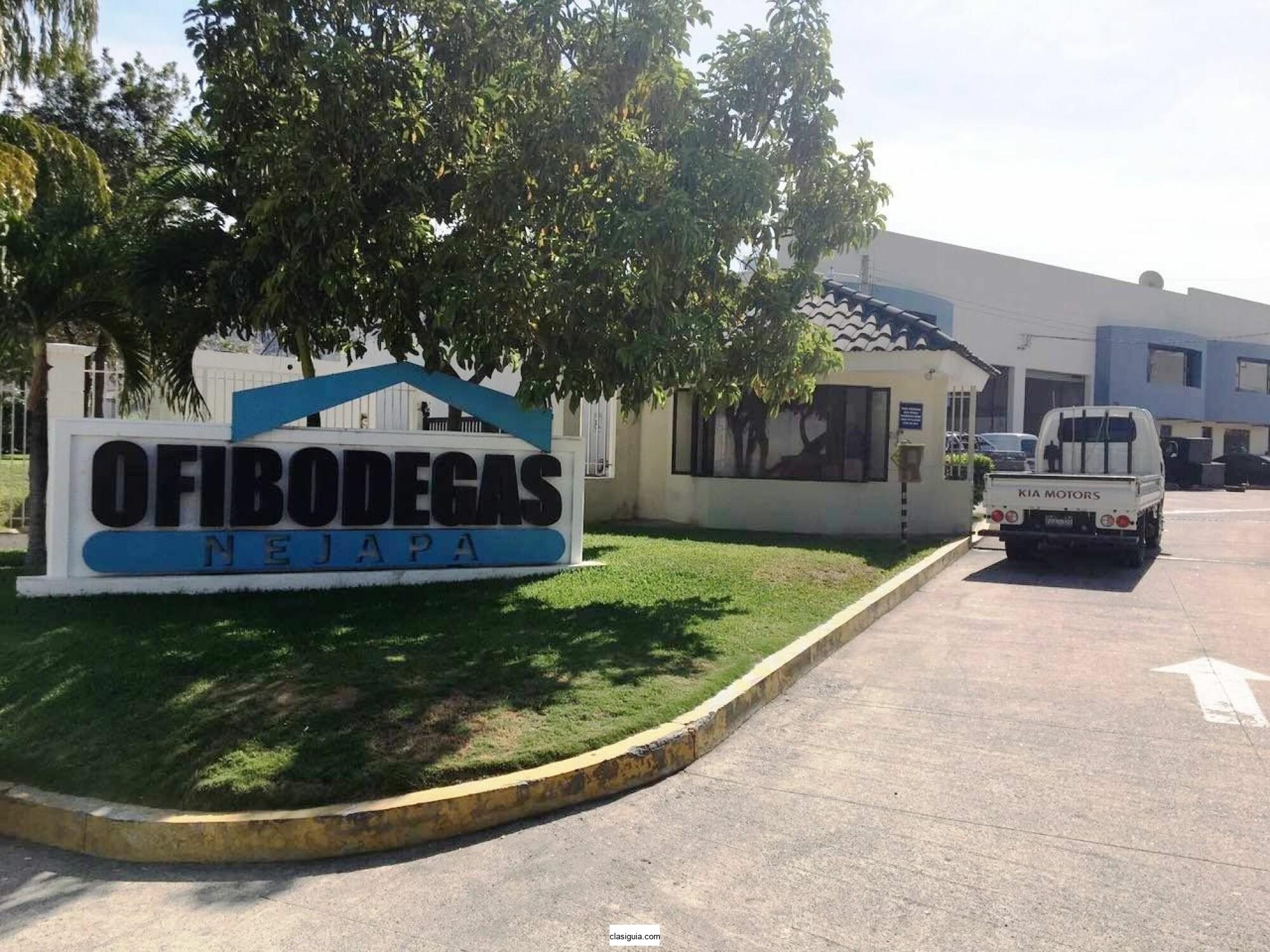 Alquilo Ofibodega en Complejo Ofibodegas Nejapa