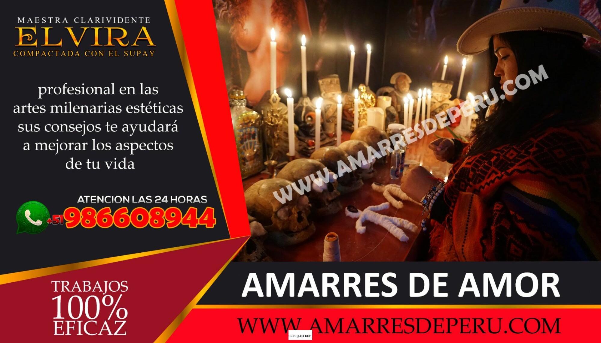 HECHICERA ELVIRA _PODEROSO AMARRES DE AMOR