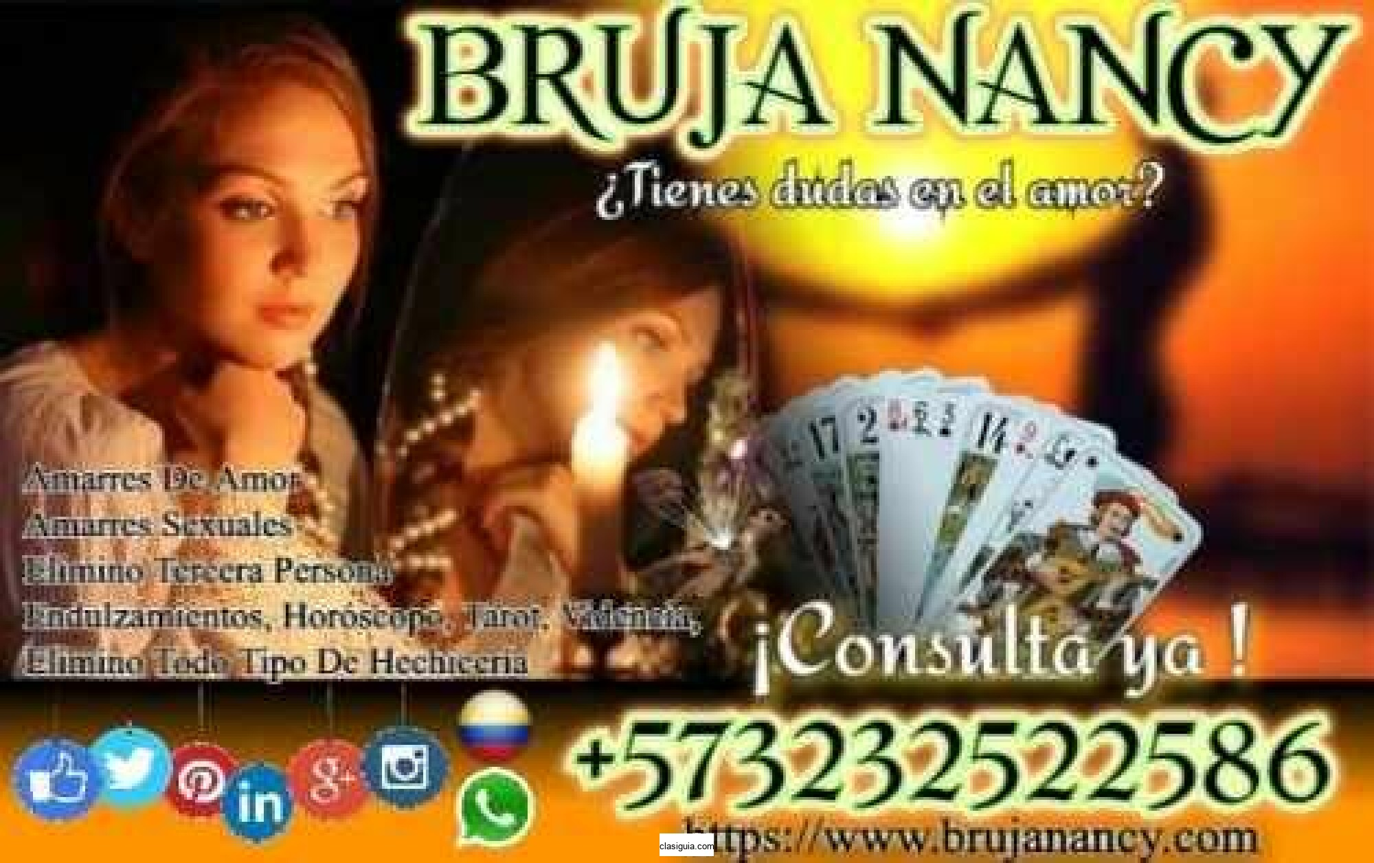BRUJERIA REAL PARA AMARRAR Y DOMINAR WHATSAPP +573232522586
