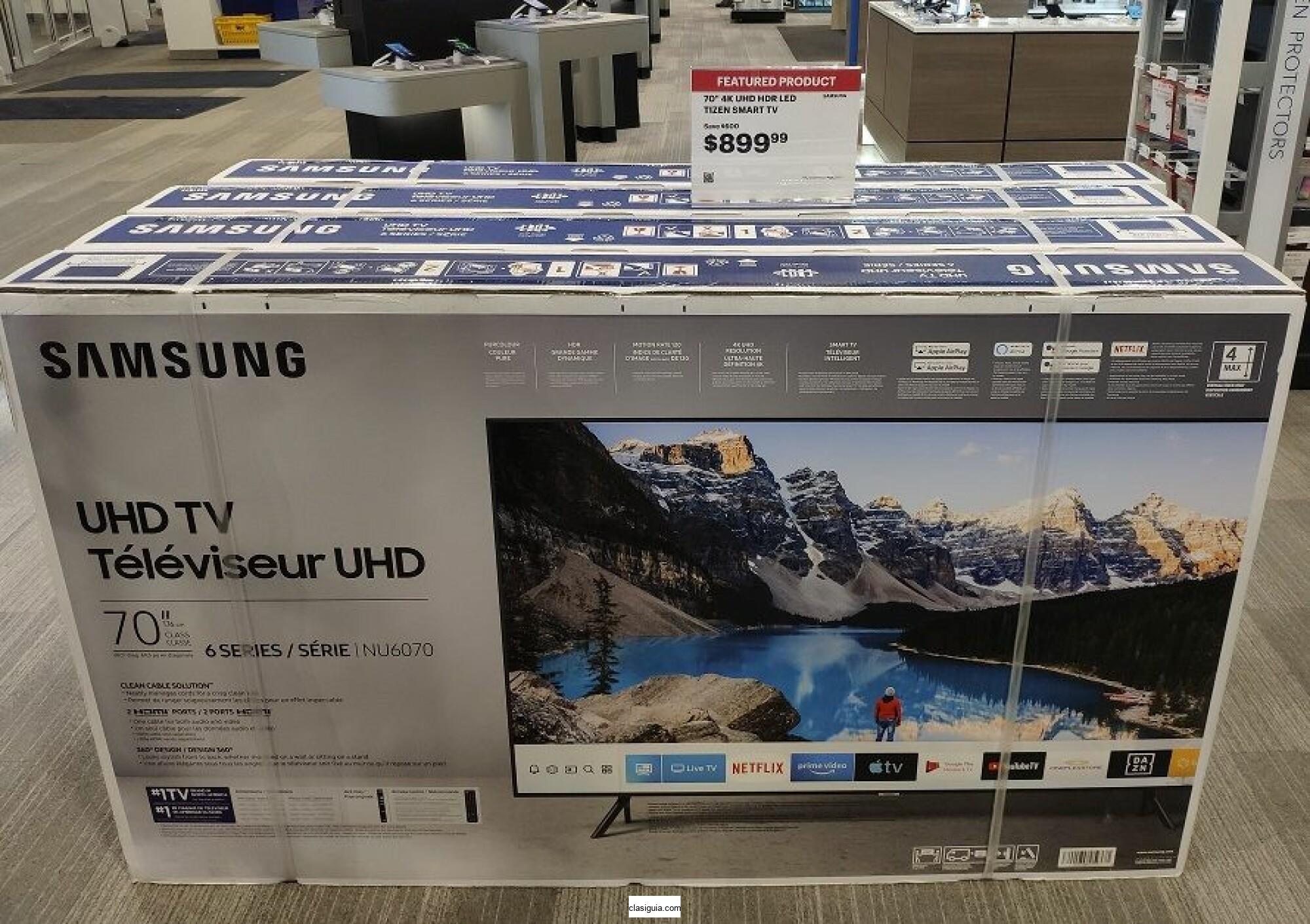 New samsung 70 inch smart 4k tv