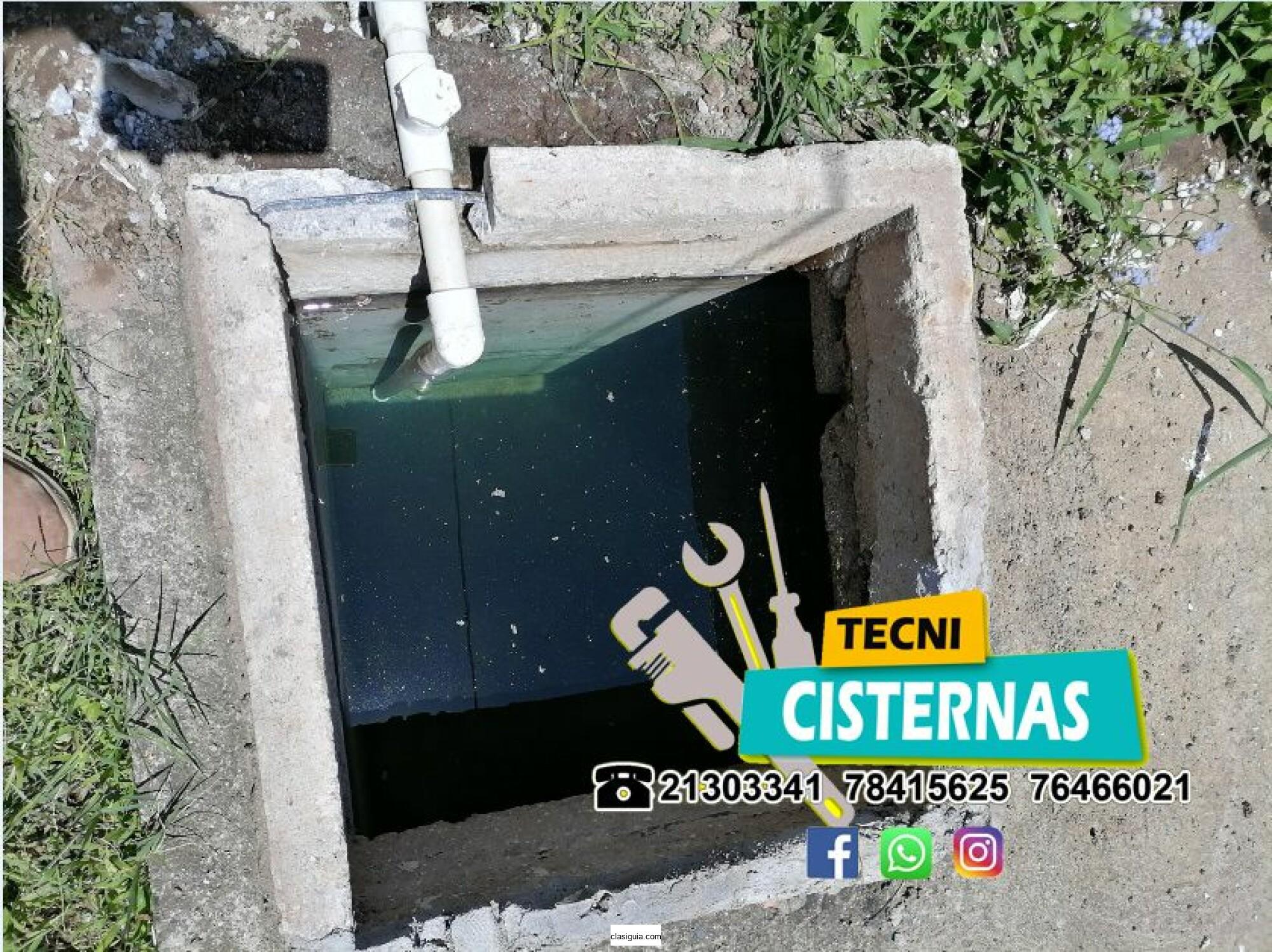 CISTERNAS Reparacion de cisternas y limpieza de cisternas