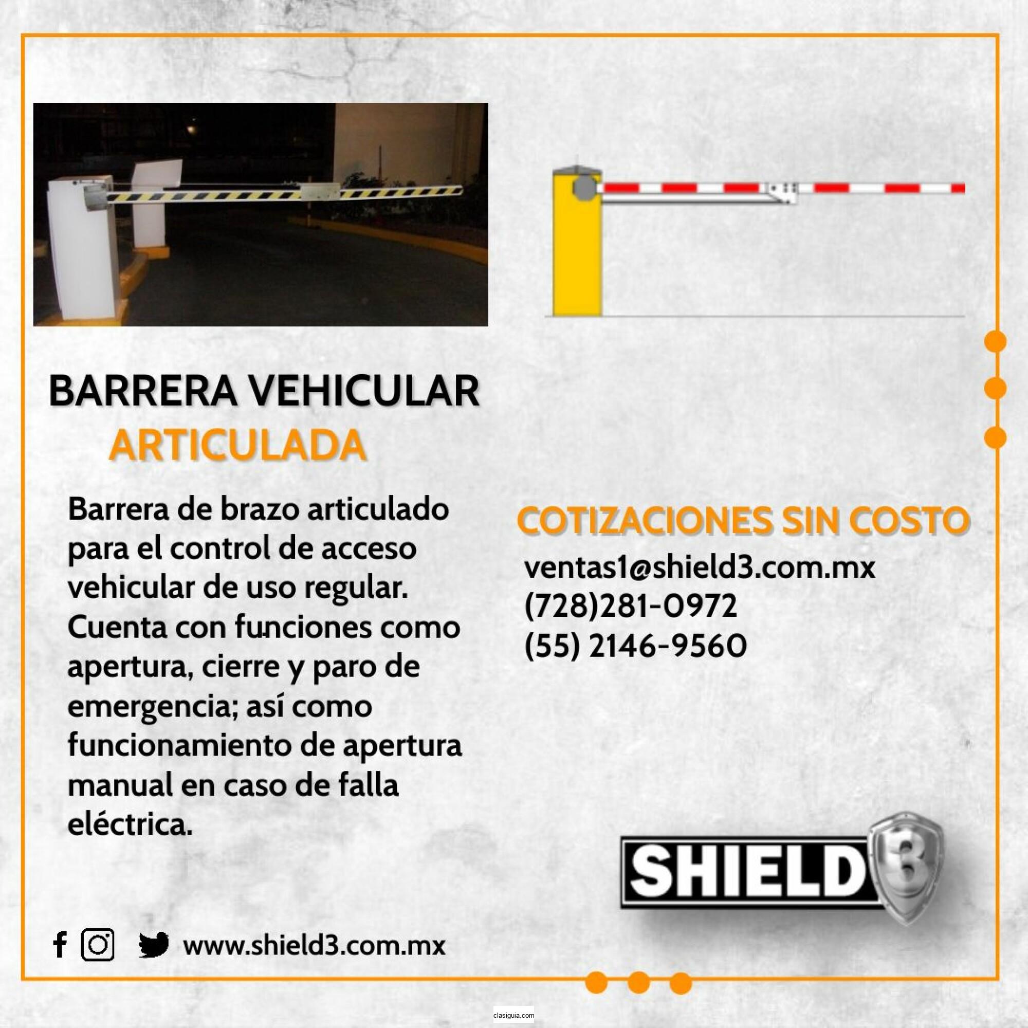 Barrera vehicular