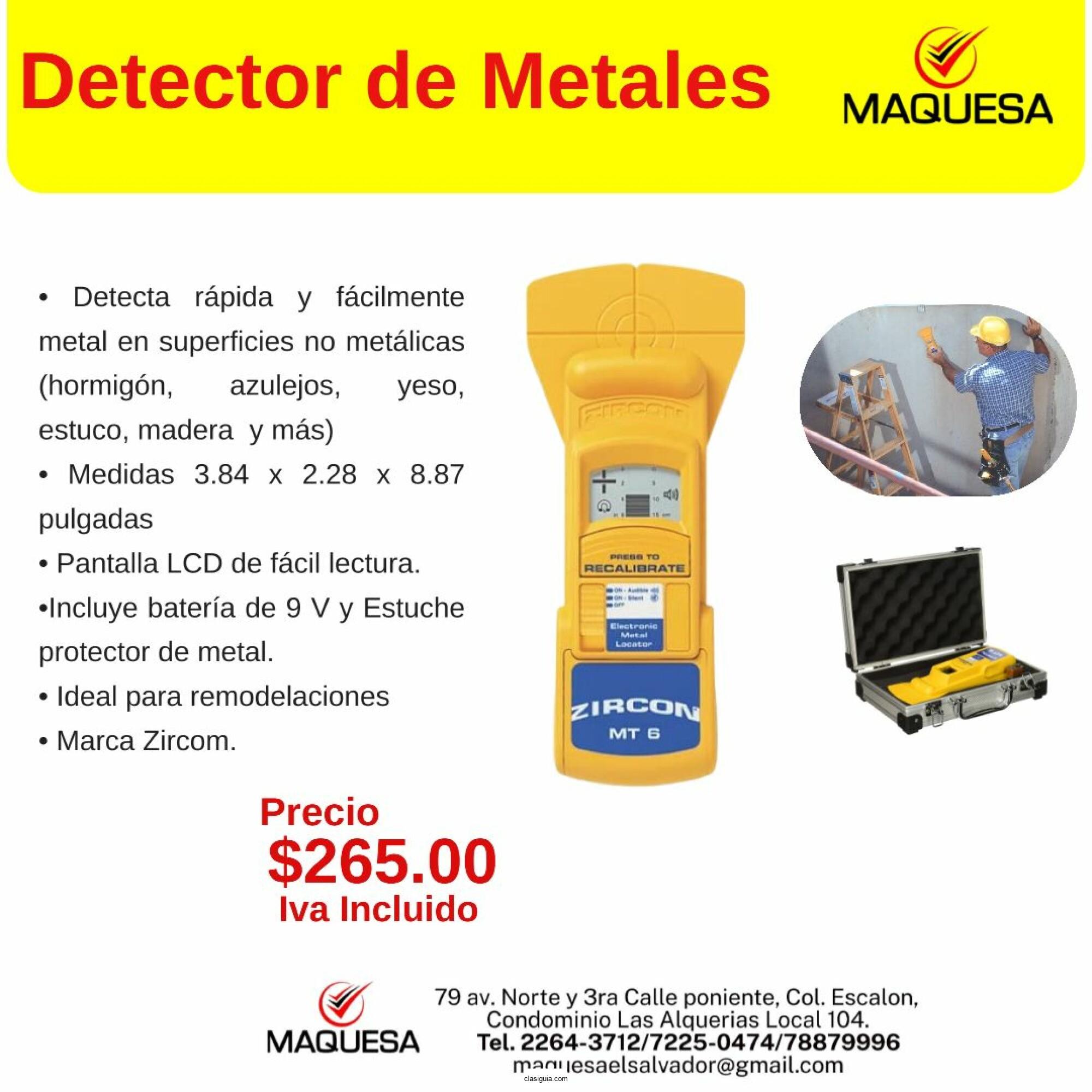 Detector de metales