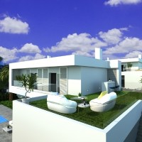 Design villas with sea view in Finestrat