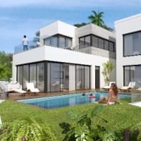 New Contemporary villas for sale in Mijas
