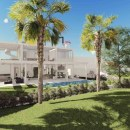 New front line golf contemporary style villa for sale in La Cala de Mijas – Mijas Costa