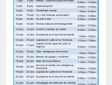 Cursos gratuitos para Honduras