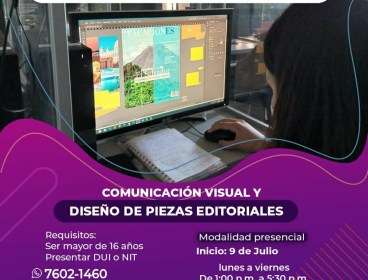Comunicación visual y diseño de piezas editoriales