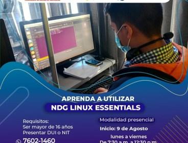Aprenda a utilizar NDG LINUX ESSENTIALS