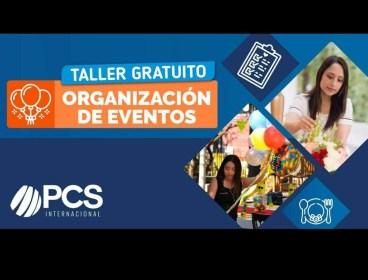 Taller gratuito Organizador de Eventos
