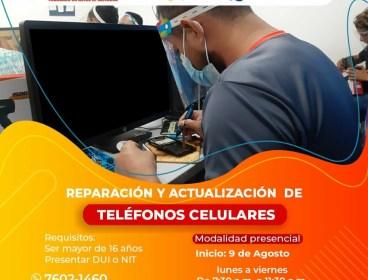 Reparación de teléfonos celulares